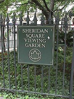 [Sheridan Square/Christopher Park]